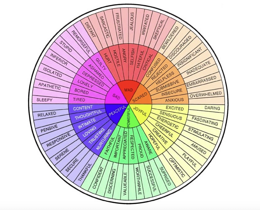 Emotion Wheel